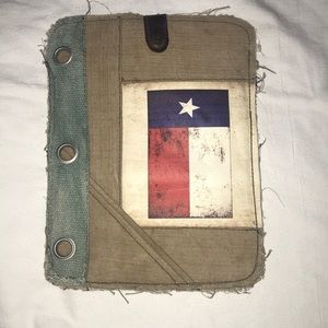 Vintage Addiction Rustic iPad Case